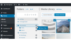 WordPress Real Media Library - Media Categories / Folders