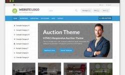 PremiumPress Responsive Auction Theme