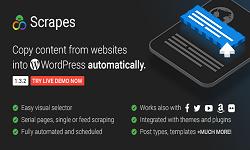 Scrapes - Automatic web content crawler and auto post plugin for WordPress