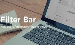 The Events Calendar - Filter Bar