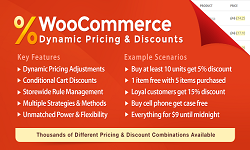WooCommerce Dynamic Pricing & Discounts