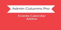 Admin Columns Pro - The Events Calendar  Addon