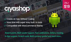 CiyaShop Native Android Application based on WooCommerce