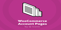 IconicWP WooCommerce Account Pages