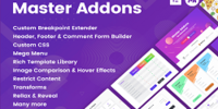 Master Addons for Elementor